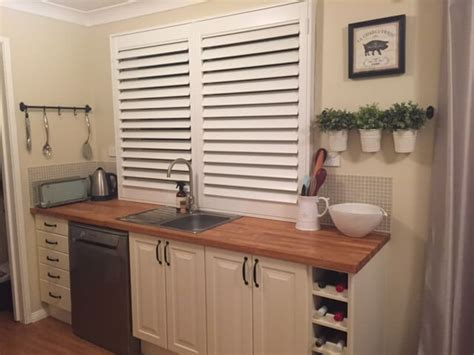 kitchen window shutters interior interior style with plantation shutters