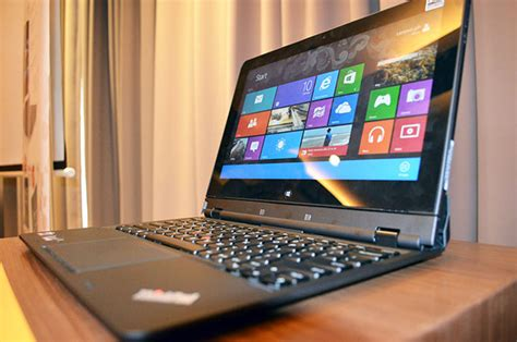 Laptop Lenovo Flip lenovo thinkpad helix a rip and flip convertible for the