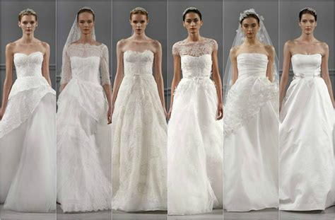 imagenes de vestidos de novia 2014 new york bridal week 2014 marchesa vera wang y monique