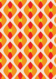 pattern warm color rattleback patterns by rachel dangerfield of imaginary
