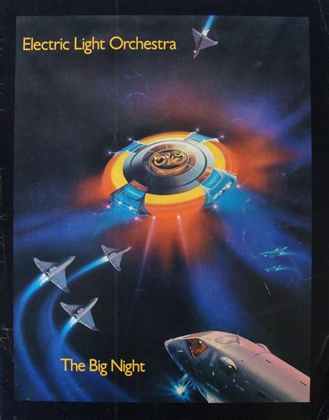 elo electric light orchestra electric light orchestra the big tour programme