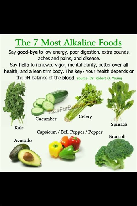 Alkaline Detox To Cleanse Cells by 10 Best Alkaline Foods And Food Pyramid Images On