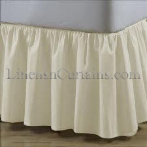 size bed skirt full size bed skirt linens n curtains