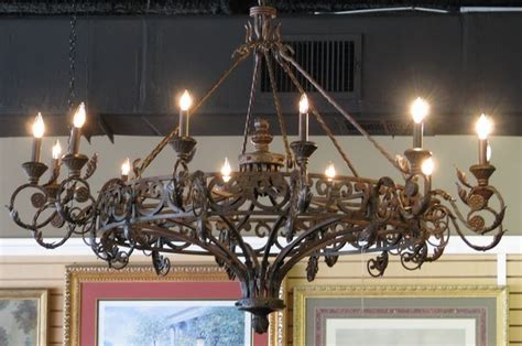 Chandeliers Houston wrought iron chandelier eclectic chandeliers houston by stillgoode