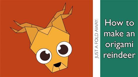 How To Make An Origami Reindeer - how to make an origami reindeer step by step guide