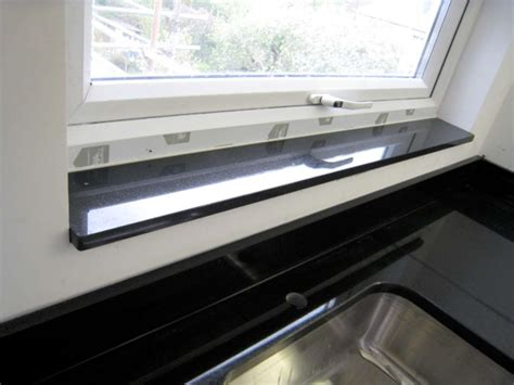 fensterbank granit schwarz window sills gta countertops