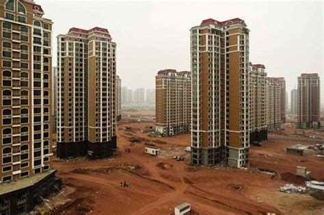abandoned cities in china there are massive cities in china where no one lives