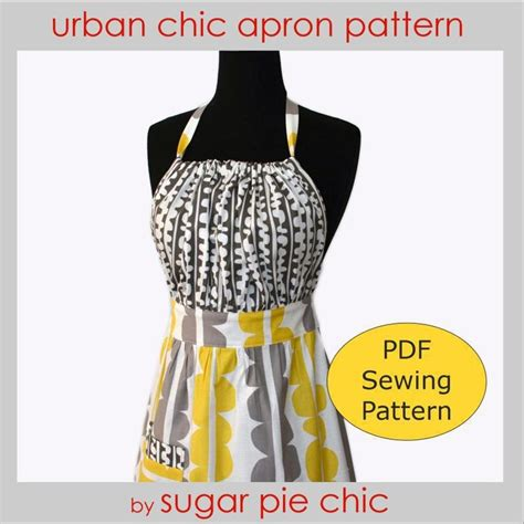 apron pattern cute urban chic apron pattern this one is cute but i think