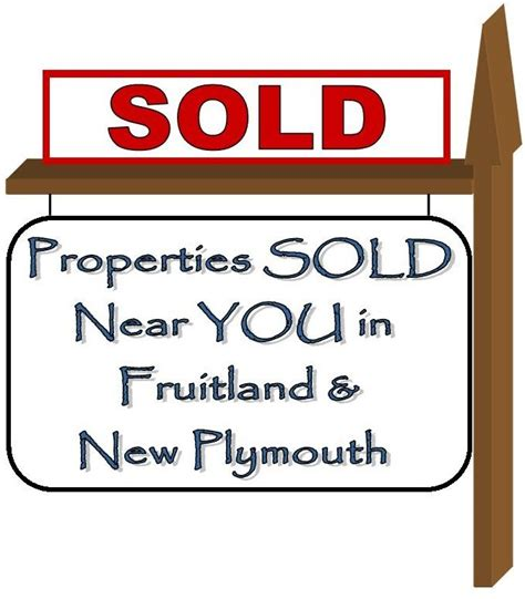 real estate houses sold fruitland and new plymouth properties sold