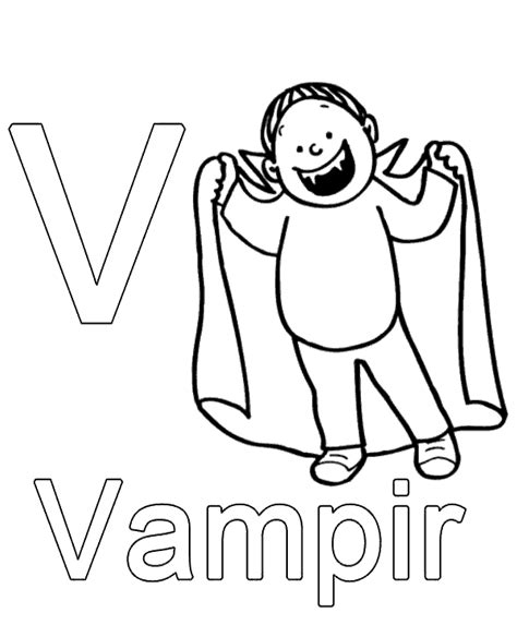 german alphabet coloring pages letter v to print or download for free