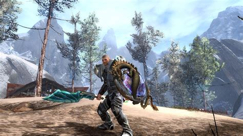 archeage dual wield runner build gw2 guardian wielding crystaline sword and new jade shield