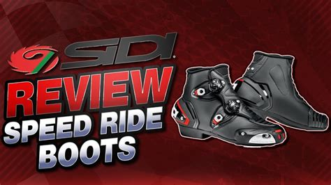 Sidi Stivali Speedride sidi speedride boot review from sportbiketrackgear