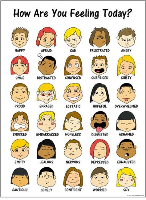free printable emotions poster 171 toon feelings poster 2 counseling pinterest poster