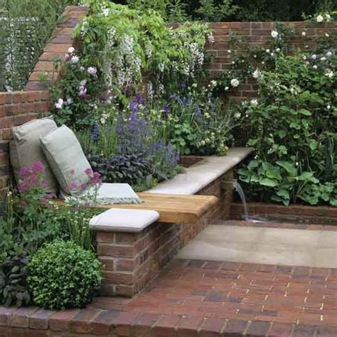 Garden Ideas For Small Areas Corner Floral Garden Area Garden Design Decorating Ideas Housetohome Co Uk