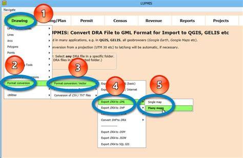 gml format converter 8 3 4 2 vector shp gml lupmismanual
