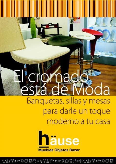 muebles cromados calam 233 o cat 225 logo muebles cromados y banquetas