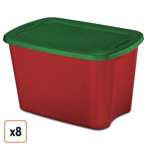 sterilite 19 gal christmas ornament storage rubbermaid storage containers for ornaments images