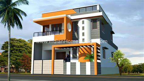 2080 sqft house elevation design in tamilnadu style