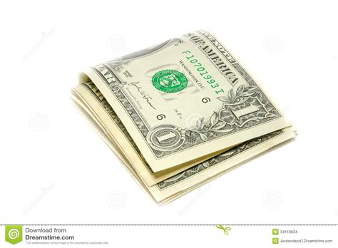 folded 100 dollar bill business card new dollar folded us dollar bills stock images image 34119634