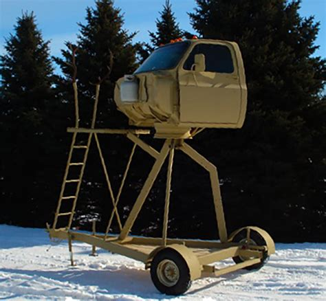 these 13 custom deer stands actually happened