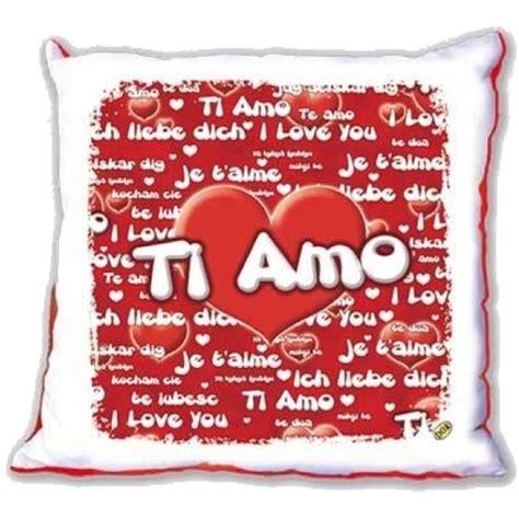 cuscini per san valentino cuscino ti amo idea regalo san valentino 40x40 cm 01739