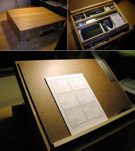 Diy Drawing Desk Portable Drawing Desk Make