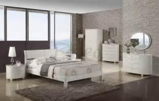 aztec high gloss white or black bedroom furniture