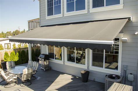 rainier awnings retractable deck awnings rainier shade