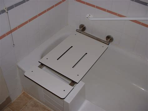 transfer bench shower curtain transfer tub bench with curtain slot grab it bathrooms