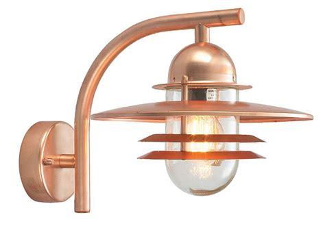art deco exterior lighting fixtures norlys oslo art deco style copper garden outdoor wall