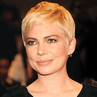 ruffled pixie hairstyle michelle williams s neo pixie short haircuts short