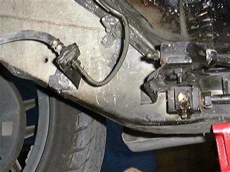 Terano Brake Boosterboster Rem clutch block removal