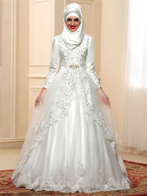 fotos de vestidos de novia arabes boda musulmana belleza10