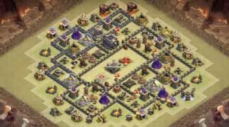 Th9 war base with dead zone th9 war base dead zone