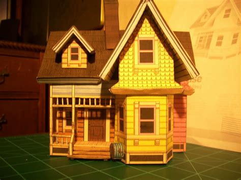 Up House Papercraft - up house by linkofcamalot on deviantart