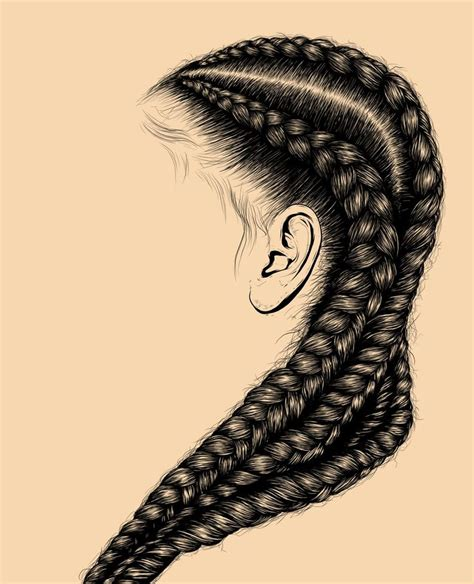 hair art hair illustration digital self inspiration