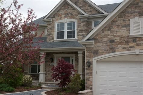 rock siding for houses exterior stone siding with stucco traditional exterior chicago by north star stone