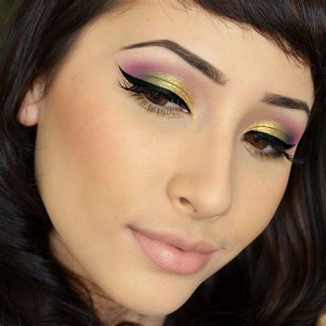 Eyeshadow Viva Seri C used midori poison plum goldilux and quot precious quot lashes