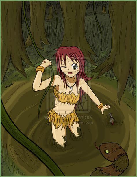 Anime Jungle by Jungle Wallpaper