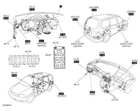 2002 kia sedona car stereo wiring diagram the