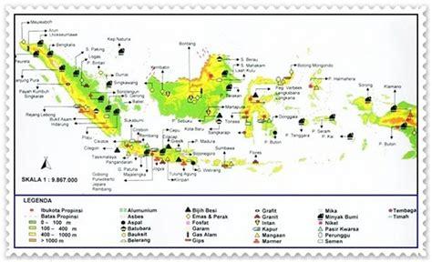 Minyak Nilam Aceh Selatan peta persebaran sumber daya alam media belajar