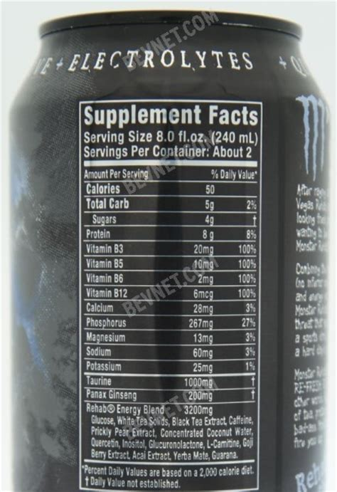 6 energy drink ingredients energy drink ingredients list pictures to pin on