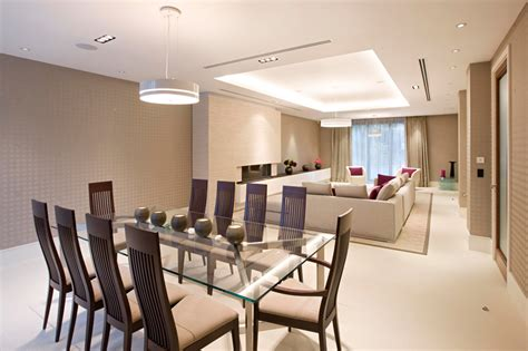 grandes espacios  luminosidad en comedores modernos