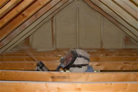Spray Foam Attic Ceiling by Dr Energy Saver Of Connecticut Home Insulation Photo