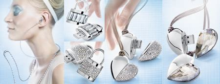 One Gig Of Glitter From Philips And Swarovski by Oopshi 187 Philips Swarovski Active Chrystals Usb Stick