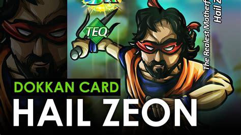 custom dokkan card templates hail zeon dokkan battle custom card feat