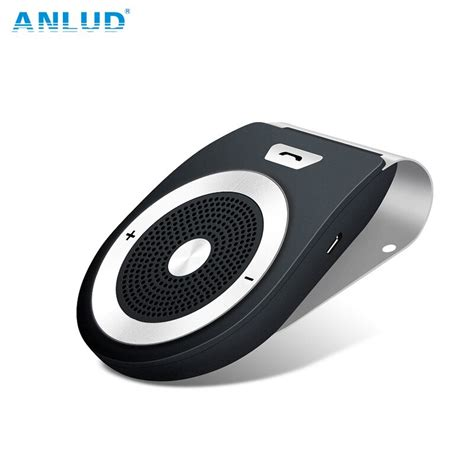 buy anlud bluetooth car kit handsfree wireless bluetooth stereo speakerphone