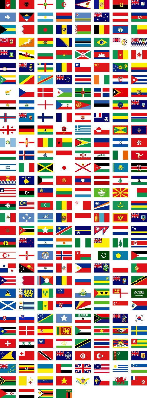 large printable flags of the world world flags large by aitheras on deviantart