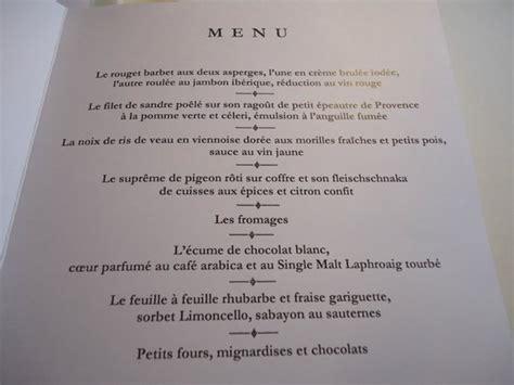 restaurant cuisine mol馗ulaire lyon le menu picture of l auberge de l ill illhaeusern