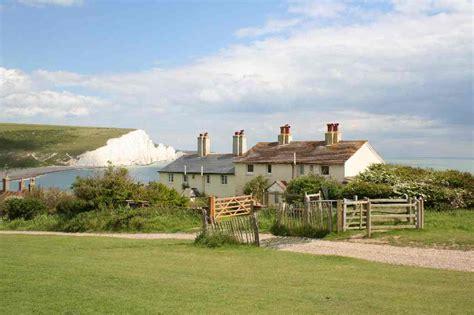 Eastbourne Cottages by The Seven Chalk Cliffs Eastbourne Sussex